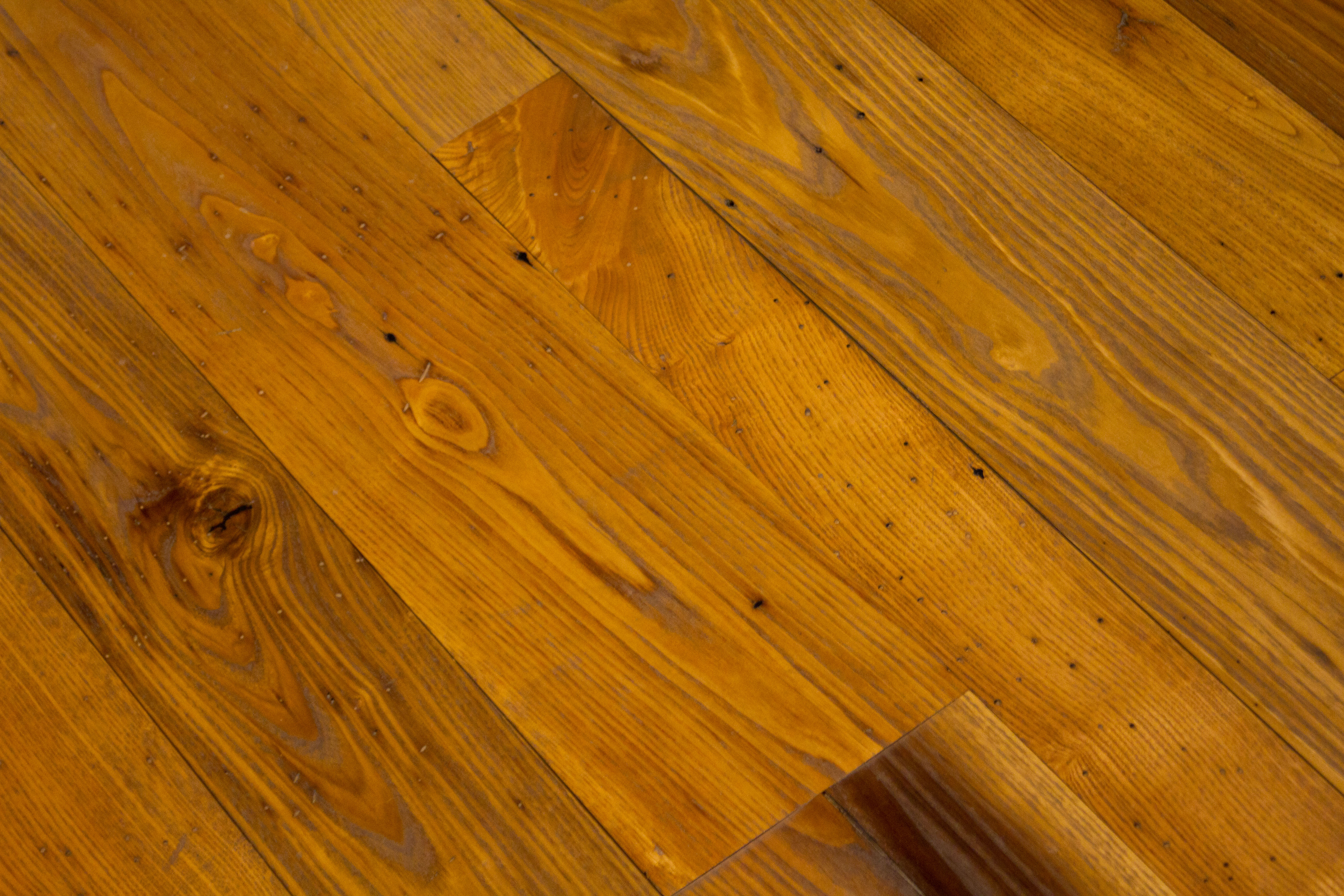 An Example of Reclaimed Chestnut flooring finished with a Tung Oil finish.