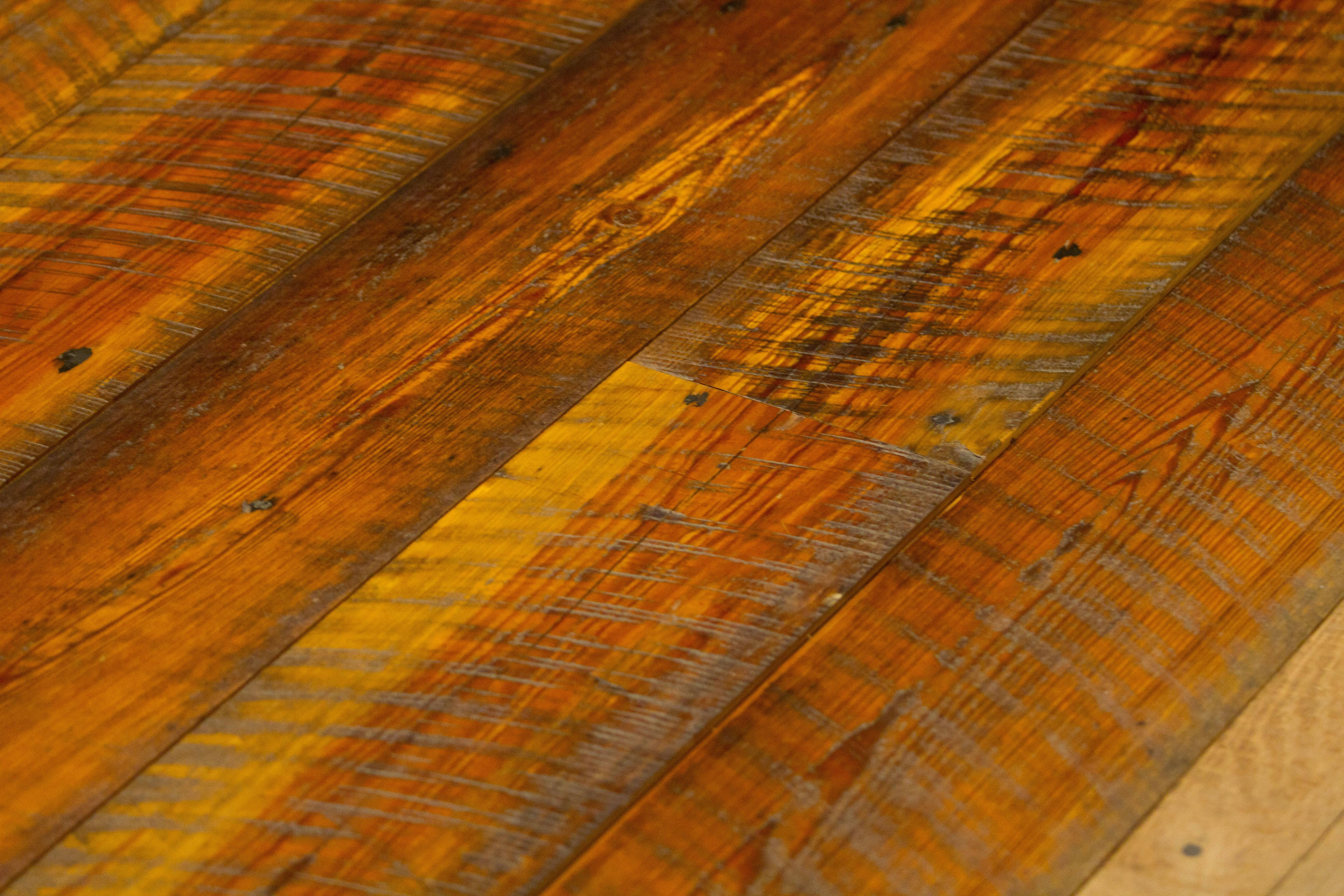 Tobacco heart pine flooring bingham lumber for Tobacco pine flooring