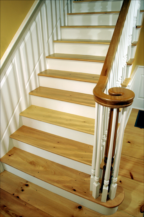 Custom Eastern White Pine Stair Treads And Risers
