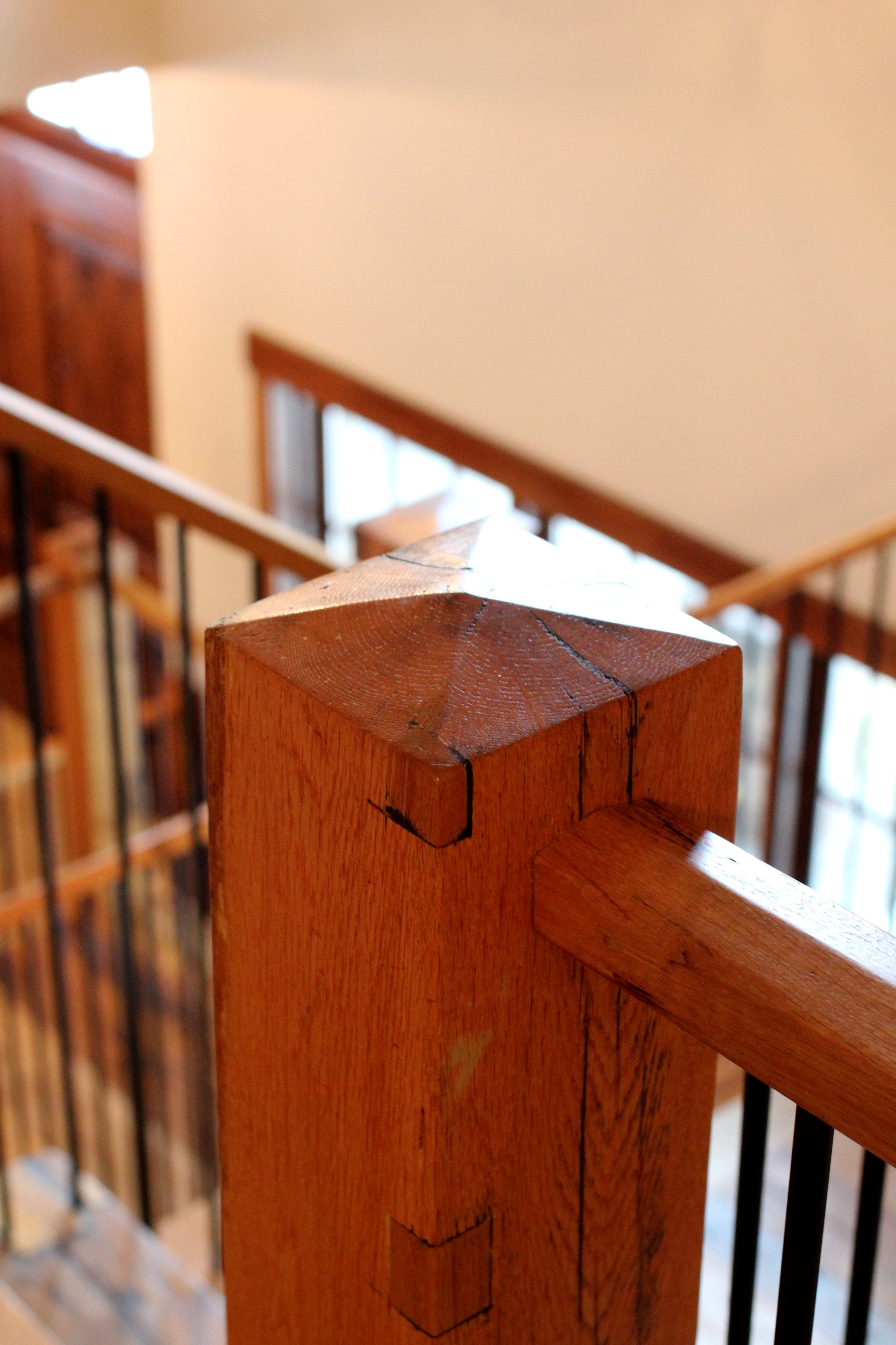 Rustic Oak Stair Components